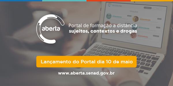 Lançamento do portal dia 10 de Maio!